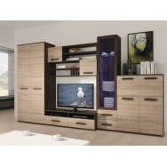Orion szekrénysor, wenge/sonoma tölgy, 320 cm