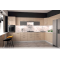 Vento konyhaösszeállítás, magasfényű bézs, 380x260