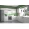 Vento konyhaösszeállítás, magasfényű fehér, 280x300