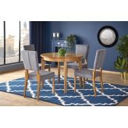 Sorbus étkezőasztal méztölgy vagy fehér színben, 100-200/100 cm