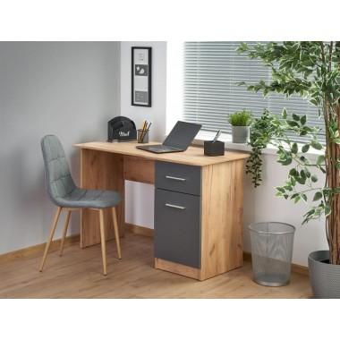 Elmo íróasztal, wotan tölgy/antracit színben