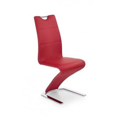 K-188 szék, fehér, barna vagy fekete vagy piros
