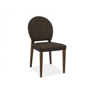 Aldo szék láb sötét dió/sötét szürke szövet