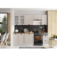 Adele 240-es konyhablokk, matt fehér, szürke, kávé vagy kék színben