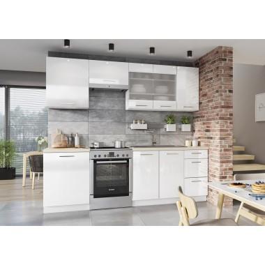 Vita 240-es konyhablokk, fényes fehér