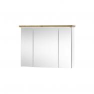 Toskana tükrös faliszekrény, fehér/artisan tölgy