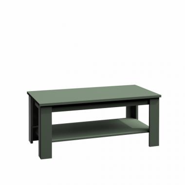 Dohányzóasztal, zöld, PROVANCE ST2