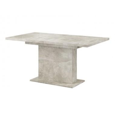 Giant nyitható étkezőasztal 160-200/90 cm, fehér, beton, öregfa, sonoma vagy artisan tölgy színekben