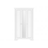 White SZF3D gardróbszekrény, havas kőris/ezüst fenyő színben
